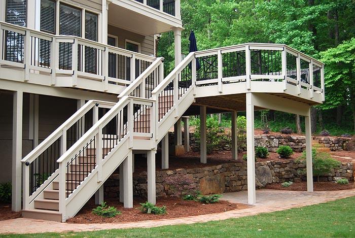 Deck Pictures Deck Photos Custom Decks Georgia Composite