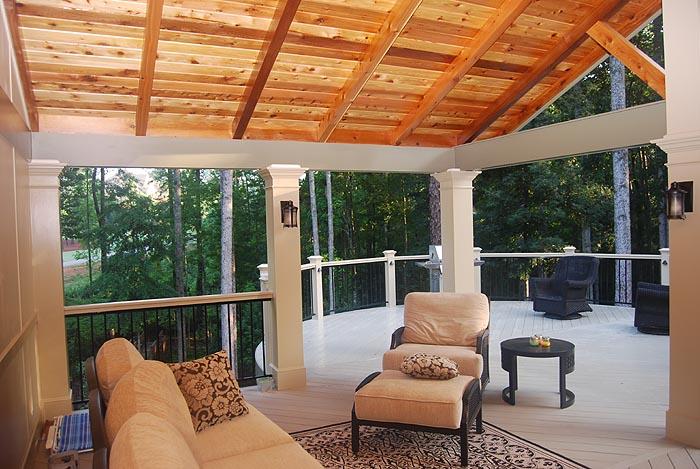 Atlanta screened porches screen porches enclosed porches for Open porch