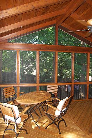 Atlanta Screened Porches Screen Porches Enclosed Porches Screened In Rooms Open Air Porches Three Season Rooms Additions Patios Gable Porches