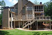 patios gable porches contractors for decks and patios atlanta