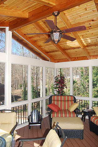 Porches Atlanta Screened Porches Atlanta Screened In
