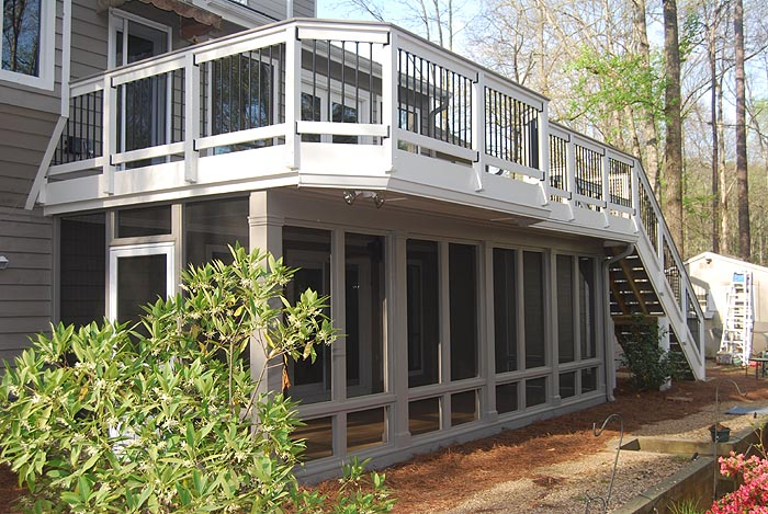 Atlanta Watertight Decks Alpharetta Ga Decks Waterproof