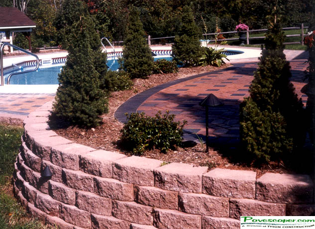 Retaining Wall Pavers